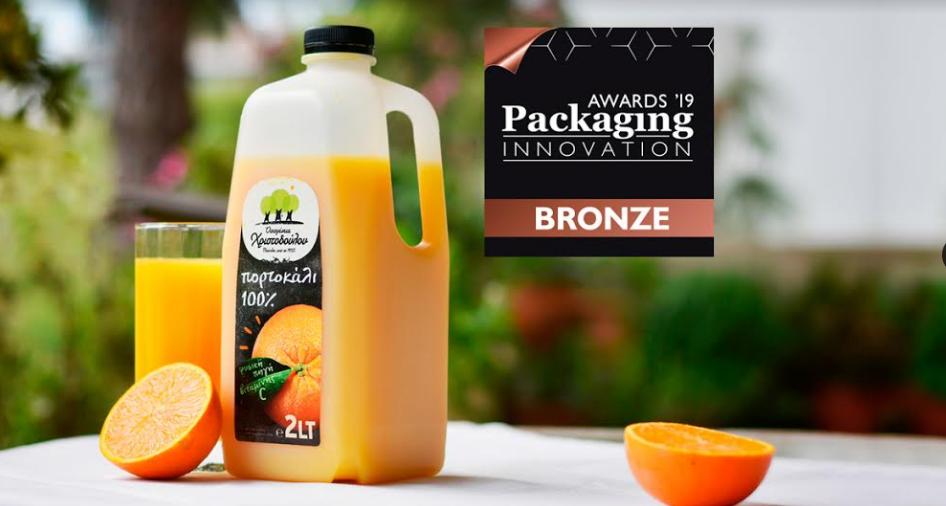 Χάλκινο Βραβείο Packaging Innovation Awards 2019 για την Οικογένεια Χριστοδούλου