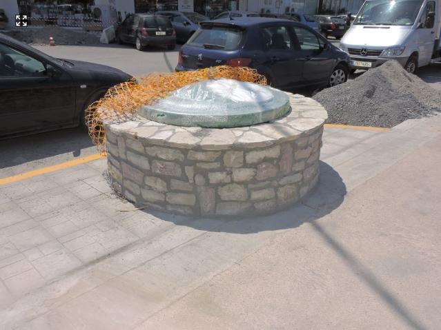 Αλλάζουν 14 υπόγειοι κάδοι σε Φαρών και Πλάτωνος για λόγους ασφαλείας