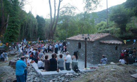 Νέδουσα: Πανηγυρίζει το εκκλησάκι του Αγίου Παΐσιου του Αγιορείτη