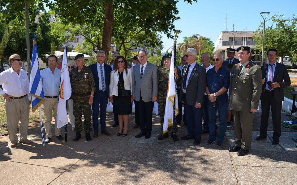 """45 χρόνια από την εισβολή στην Κύπρο, η Καλαμάτα """"δεν ξέχασε""""…"""