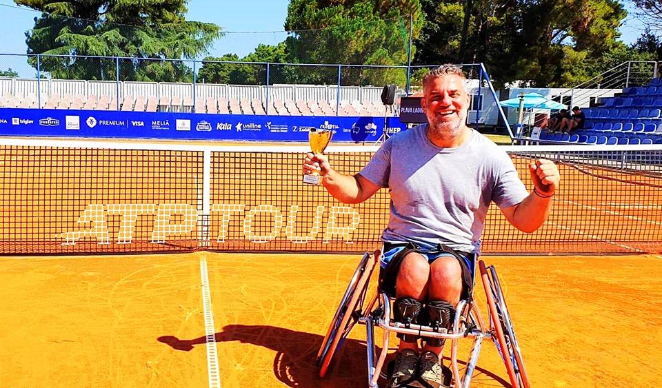 """Δεύτερη θέση στο """"διπλό"""" και ημιτελικός στο """"μονό"""" για τον Λαζαρίδη στην Κροατία"""