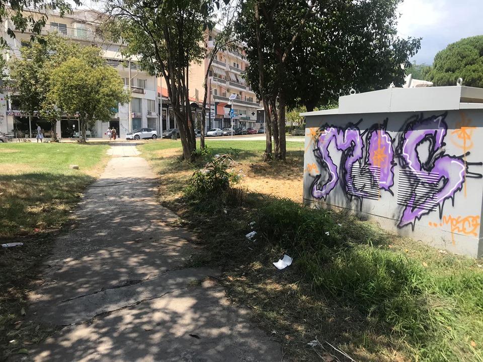 Χρήση ναρκωτικών στο κέντρο της Καλαμάτας!