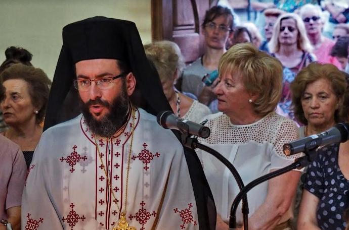 Πανηγυρικός Εσπερινός στους Αγίους Αποστόλους Καλαμάτας