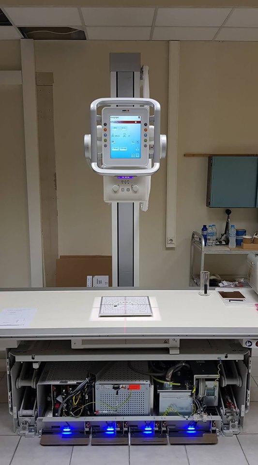 Κέντρο Υγείας Καλαμάτας: Μπήκε το νέο ακτινολογικό συγκρότημα