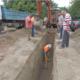 ΔΕΥΑΚ: Σε εξέλιξη η κατασκευή δικτύου ομβρίων στο Νησάκι