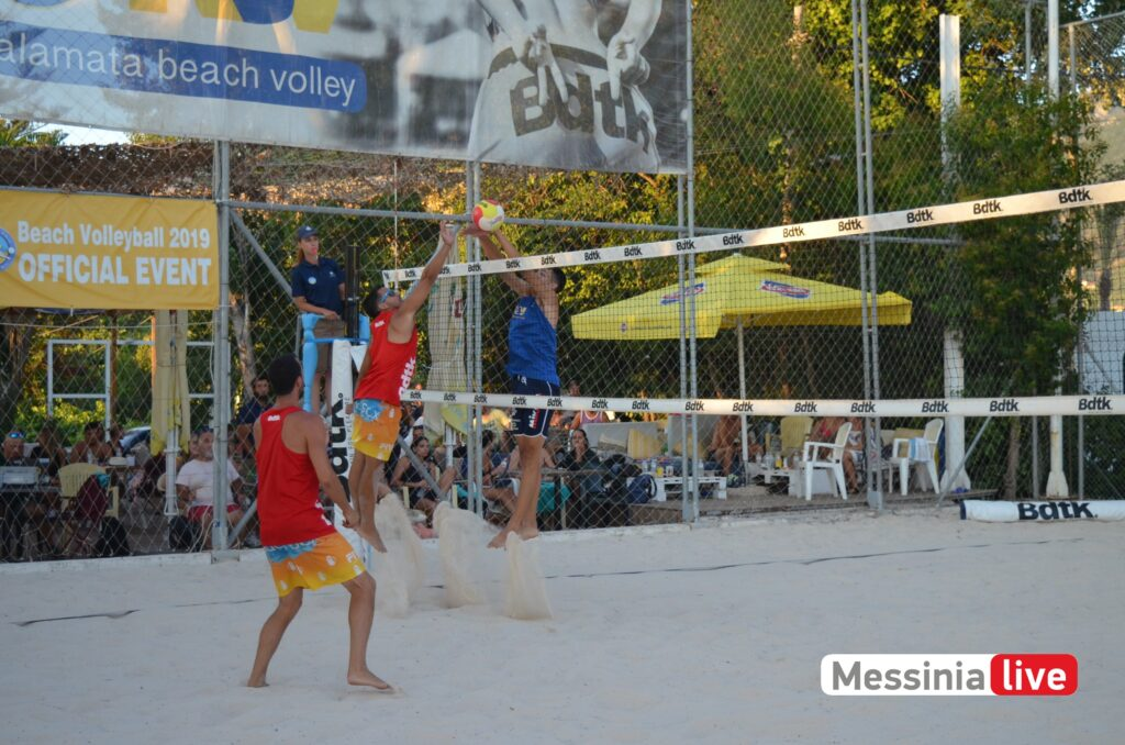Beach Volley: Πρώτη θέση οι αδερφοί Χανδρινοί χωρίς να χάσουν σετ!