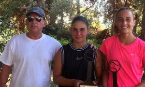 Τένις: Μεγάλη διπλή επιτυχία της Παπακωνσταντίνου στην Γλυφάδα