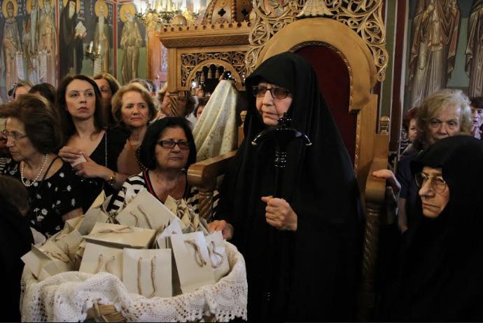 H ενθρόνιση της νέας καθηγουμένης της Μονής Προφήτη Ιωήλ Καλαμάτας