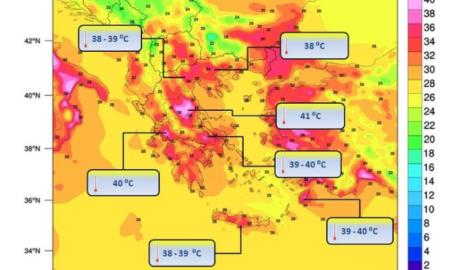 """Κύμα καύσωνα """"σαρώνει"""" και τη Μεσσηνία-Κατακόρυφη πτώση της θερμοκρασίας από Πέμπτη"""