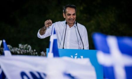 Καθαρή κυβερνητική λύση και καθαρό πολιτικό ορίζοντα ζήτησε ο Μητσοτάκης
