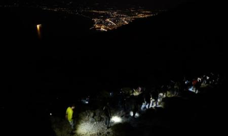 Πάνω από 80 πεζοπόροι στη νυχτερινή πεζοπορία του Ορειβατικού Καλαμάτας στο Καλάθι