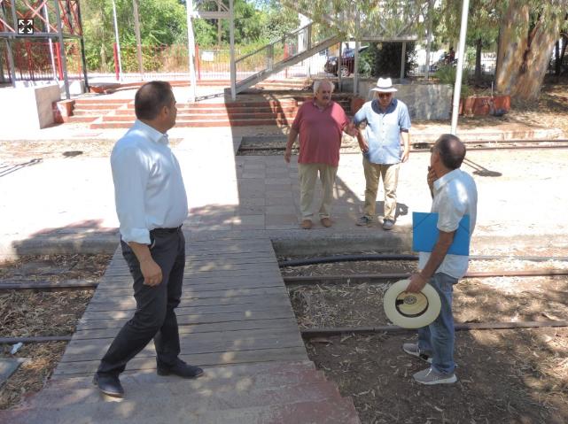 Σε εξέλιξη εργασίες αναβάθμισης φωτισμού και συντήρησης στο Πάρκο Σιδηροδρόμων Καλαμάτας