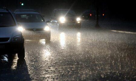 Προβλήματα από την ισχυρή βροχόπτωση στην Κορινθία