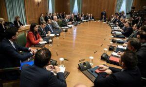 Η οικονομία και το νομοθετικό έργο στην ατζέντα του υπουργικού