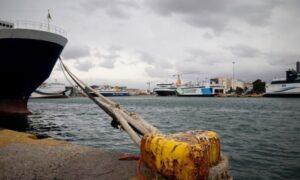 Δεμένα τα πλοία λόγω 24ωρης απεργίας της ΠΝΟ