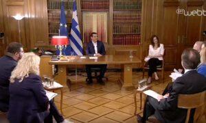 Συνέντευξη του Αλέξη Τσίπρα σε 8 περιφερειακά κανάλια