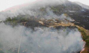 Εικόνες Αποκάλυψης στον Αμαζόνιο – Στάχτη ο «πνεύμονας» του πλανήτη