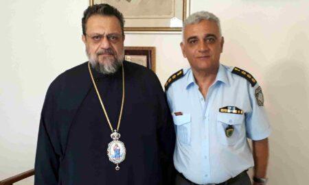 Στο Μητροπολίτη Μεσσηνίας ο Νέος Διευθυντής Αστυνομίας