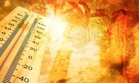Καμίνι η χώρα-Άγγιξε τους 41,4 βαθμούς ο υδράργυρος!