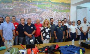 Μετά από χρόνια οι Εθελοντικές ομάδες παρέλαβαν εξοπλισμό