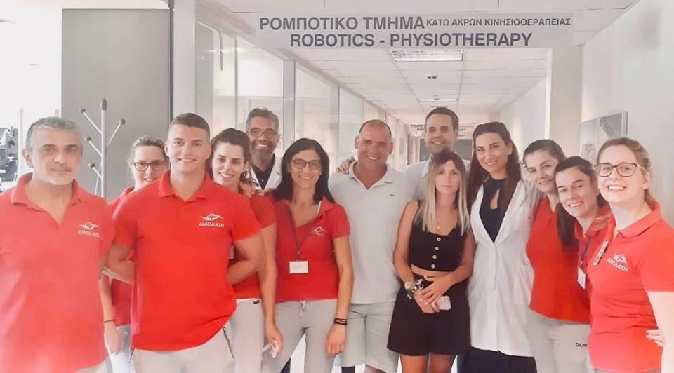 """Ο Παραολυμπιονίκης Θεόδωρος Αλεξάς στη """"Διάπλαση"""""""