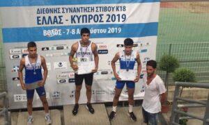 ΣΤΙΒΟΣ: Αργυρό μετάλλιο στο Βόλο ο Βασιλογιαννακόπουλος