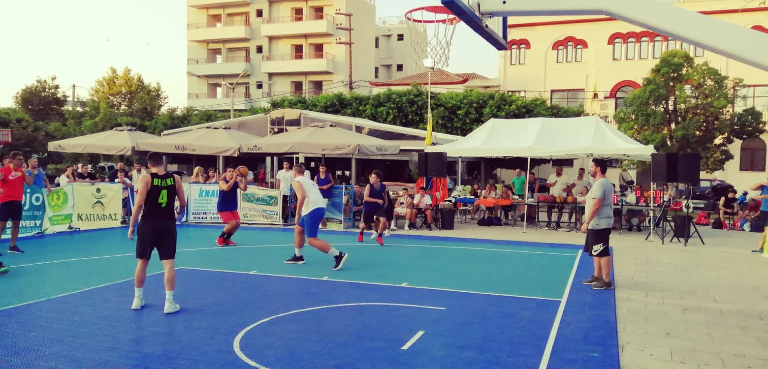3on3 streetball Κυπαρισσίας: Τριήμερη πανδαισία μπάσκετ με σούπερ θέαμα από 157 αθλητές
