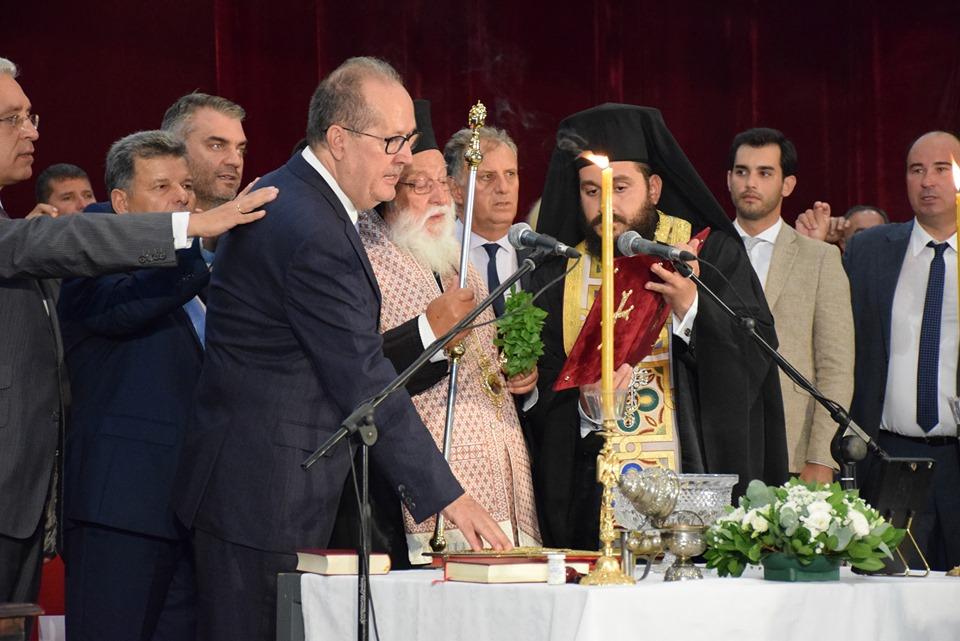 Ορκίστηκε Περιφερειάρχης Πελοποννήσου ο Παναγιώτης Νίκας
