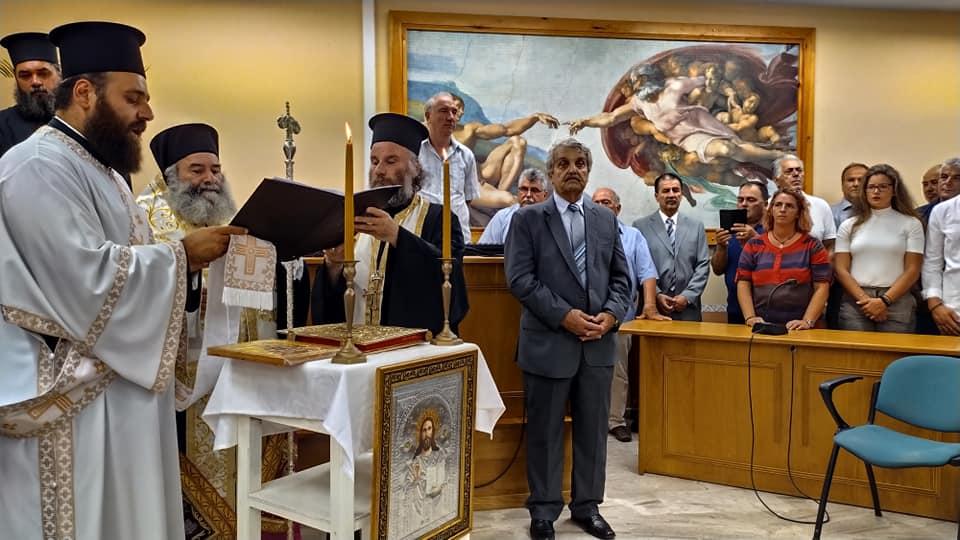 Δυτική Μάνη: Ορκίστηκε νέος Δήμαρχος ο Δημήτρης Γιαννημάρας