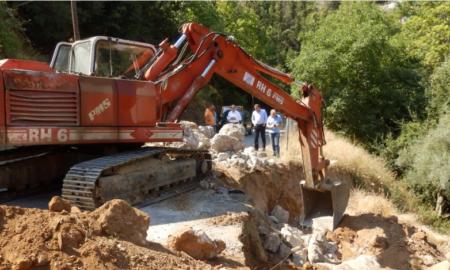 Στον Ταΰγετο Βασιλόπουλος και Νίκας-Σε εξέλιξη οι εργασίες αποκατάστασης