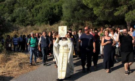 Μονή Βουλκάνου: Με λαμπρότητα εορτάστηκε η κοίμηση της Θεοτόκου