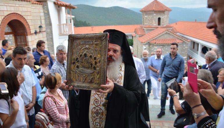 Εορτάζει η Ιερά Μονή Κοιμήσεως της Θεοτόκου Μαλεβής Κυνουρίας