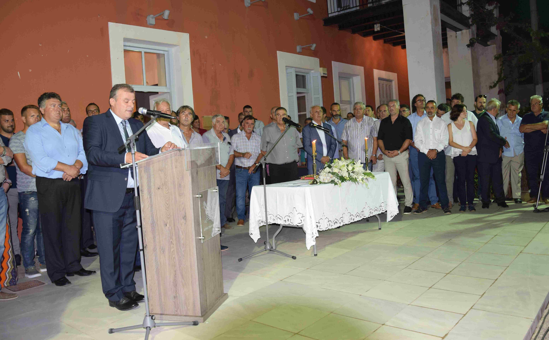 Ορκίστηκε ο νέος Δήμαρχος Πύλου- Νέστορος Παναγιώτης Καρβέλας