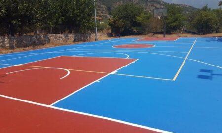 Δήμος Δυτικής Μάνης: Ολοκληρώνονται οι αθλητικές εγκαταστάσεις στο Νεοχώρι