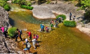 """Οι πεζοπόροι του """"ΕΥΚΛΗ"""" την Κυριακή στο δροσερό φαράγγι του Ερύμανθου ποταμού"""