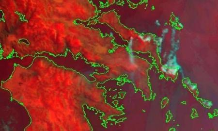 Εθνικό Αστεροσκοπείο: Φέτος κάηκαν μόνο 89.000 στρέμματα
