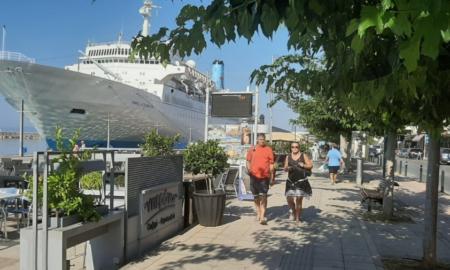 """1.335 τουρίστες στην Καλαμάτα με το κρουαζιερόπλοιο """"Marella Celebration"""""""