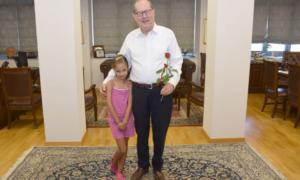 Ευχές στο Δήμαρχο Καλαμάτας για τη γιορτή του