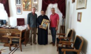 Αντίγραφο της Παναγίας της Πεταλιδιώτισσας προσέφερε ο Μητροπολίτης στο Δημοτικό Συμβούλιο Καλαμάτας
