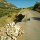 Aρκαδική Πύλη προς Ζερμπίσια: Σε κακά χάλια ο δρόμος που καταρρέει
