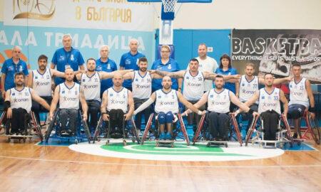 «Χρυσή» η Εθνική ομάδα μπάσκετ με αμαξίδιο με την υποστήριξη του ΟΠΑΠ