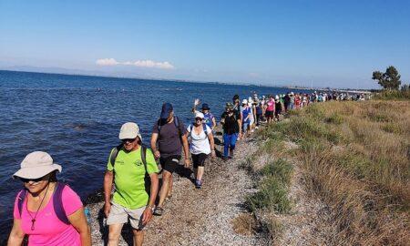 Οι περιηγητές του Ευκλή απόλαυσαν την Πανσέληνο του Αυγούστου στις ακτές της Ηλείας