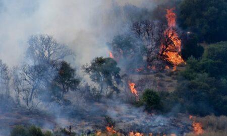 Μεγάλη φωτιά στην Εύβοια, έως την Αττική ο καπνός – Μαίνονται άλλα μέτωπα