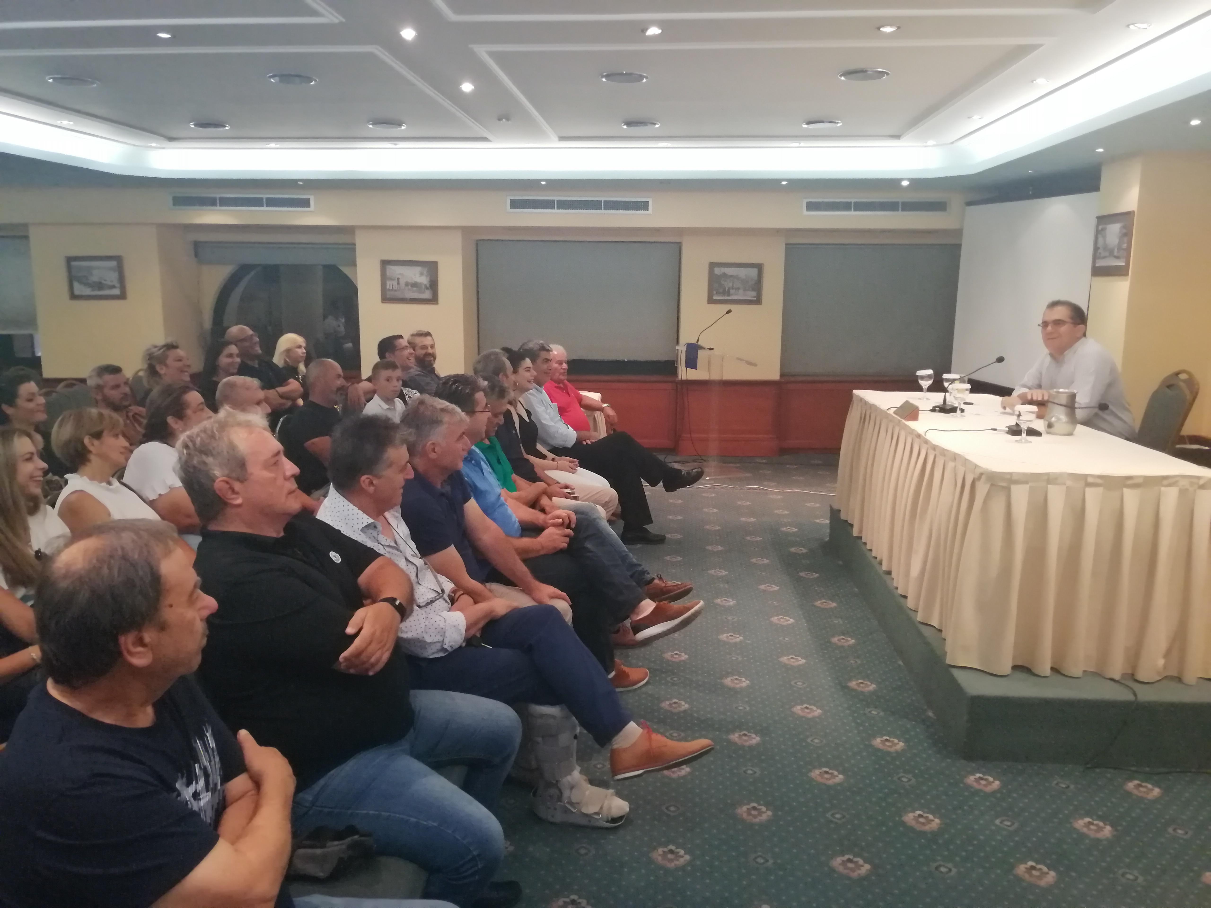 Παράταξη Βασιλόπουλου: Τον Σεπτέμβριο θα καθοριστεί το πλαίσιο δράσης και λειτουργίας της
