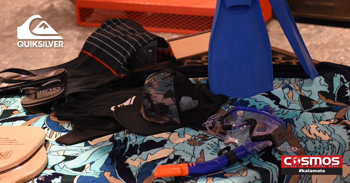 "Quiksilver: Λανσάρει συλλογή ρούχων με το brand ""KALAMATA"""