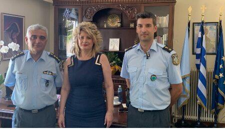 Οιχαλία: Συνεργασία της Δημάρχου με τις Αστυνομικές αρχές