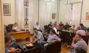 Συνάντηση γνωριμίας των  Προέδρων της Μεσσηνίας κι εκλογές στις 5 Οκτωβρίου