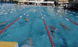 ΝΟΚ: Πλημμύρισε παιδιά το κολυμβητήριο Καλαμάτας!