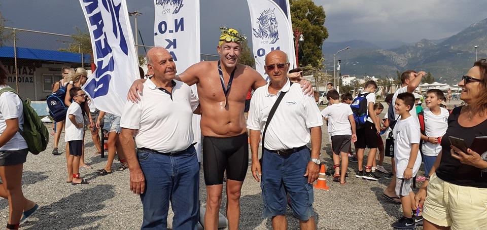 Καλαμάτα-Κορώνη: Νικητής σε 9 ώρες ο Ιωαννίδης- 6 ηρωϊκοί κολυμβητές ολοκλήρωσαν τα 30 χλμ.