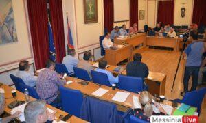 Δημοτικό Συμβούλιο Καλαμάτας: Επίσημη πρώτη με παρατράγουδα